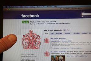 Come creare una pagina lunga Facebook Fan Icona