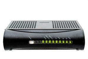 Come posso aggiornare il firmware del modem su un flusso di Siemens Velocità 4100?