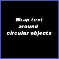 Come disporre il testo intorno alla parte superiore di oggetti circolari in Paint Shop Pro Photo XI