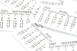 Come creare un calendario utilizzando Excel