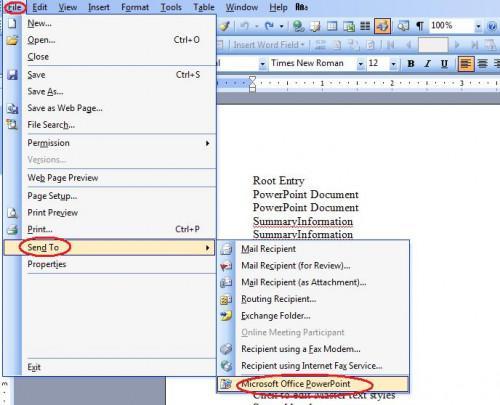 Come recuperare un file corrotto Microsoft Powerpoint