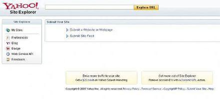 Come trovare ritroso al tuo sito utilizzando Yahoo Site Explorer