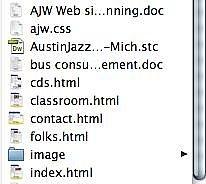 Come selezionare più elementi con SHIFT-Click