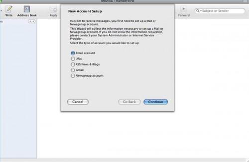 Come creare un nuovo indirizzo email per Firefox