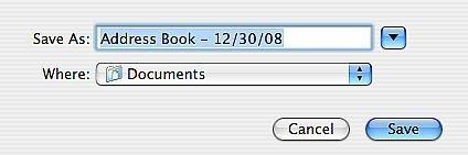 Come eseguire il backup e Trasferimento rubrica le voci su un Mac