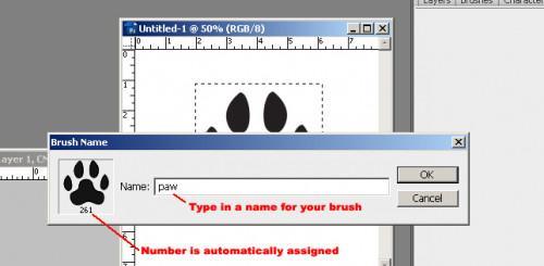Come fare Photoshop pennelli