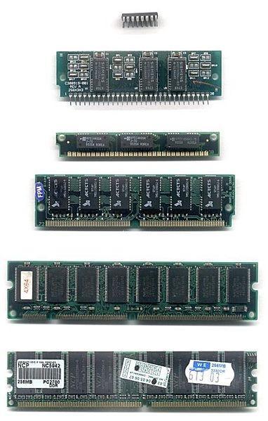 Computer Memory Chips vs. Confronto memoria umana