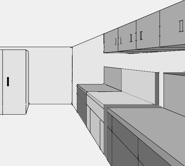come progettare cucina modulare. come disegnare una piantina ...
