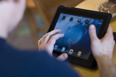 Come salvare i file PDF su un iPad