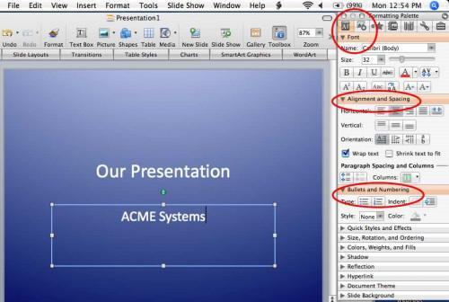 Come usare un Mac con PowerPoint