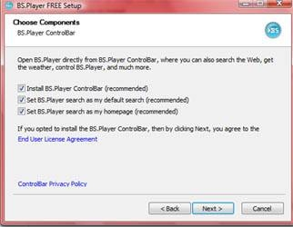 Come installare BS Player