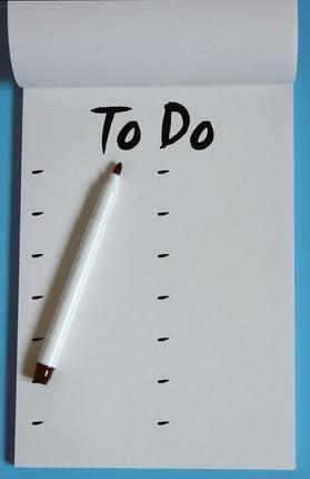 Come creare un calendario per fare la lista