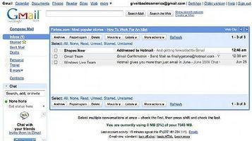 Come inoltrare Hotmail a Gmail