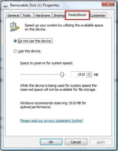Come aumentare la velocità di download in Vista