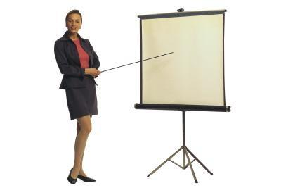 Come risolvere una macchia gialla su uno schermo proiettore