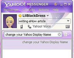 Come modificare un nome su Yahoo Messenger