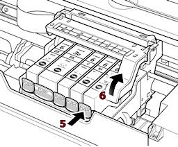 Come pulire una testina di stampa Canon intasato