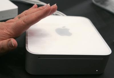 Il Mac mini è sfocata su HDTV