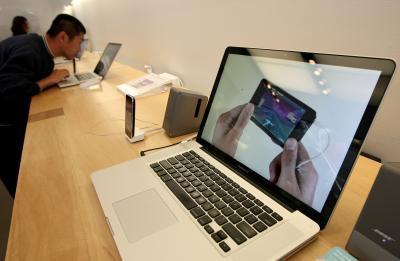 Scroll Lock su un computer portatile Mac