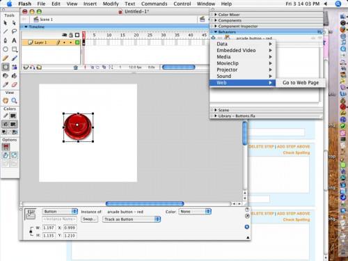 Come creare un pulsante in Flash