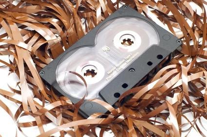 Materiali utilizzati nei tre strati di analogico a nastro magnetico
