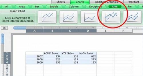 Come fare grafici in Microsoft Office