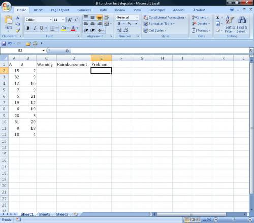 """Come utilizzare il """"IF"""" Funzione in Excel"""
