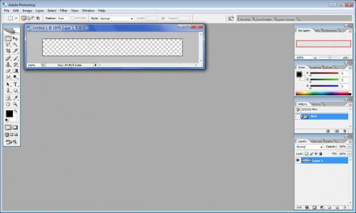 Come fare Userbars Con Photoshop