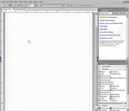 Come creare forme con Adobe Acrobat