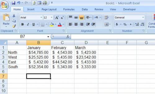 Come fare griglia Stampa in Microsoft Excel 2007 Fogli di calcolo
