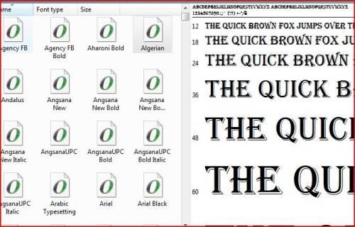 Come scaricare e usare i font