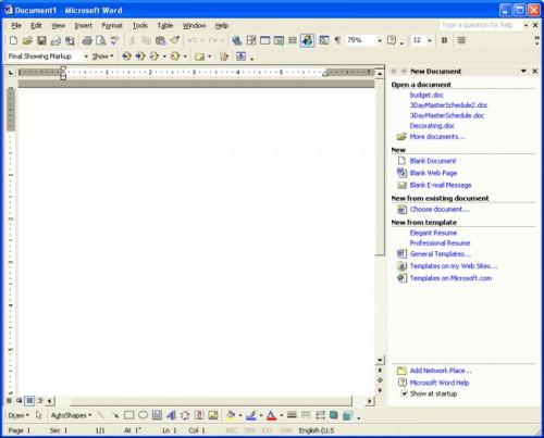 Microsoft Word XP Tutorial