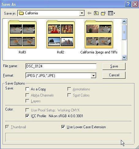 Come salvare un Photoshop immagine di un formato di file alternativo