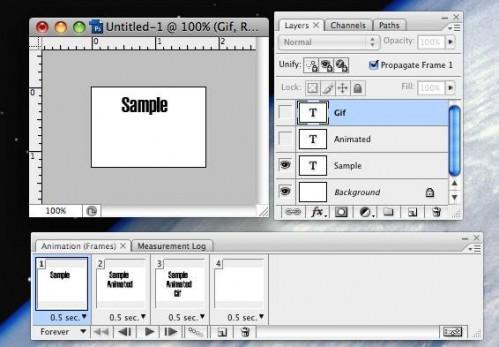 Come fare GIF animate su un Mac