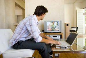 Che cosa rende un computer portatile in grado di trasmettere a un televisore?