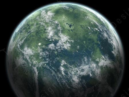 Come fare un pianeta con Photoshop CS3