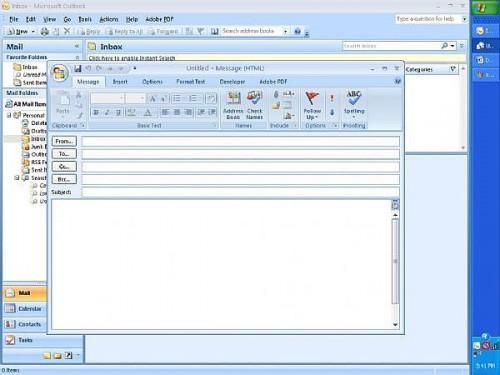 Come allegare file (s) di messaggi di posta elettronica