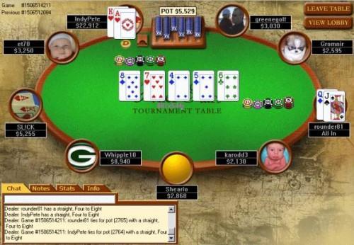 Come creare un'immagine su Poker Stars
