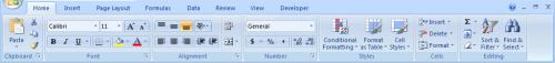 Parti di Excel per Windows