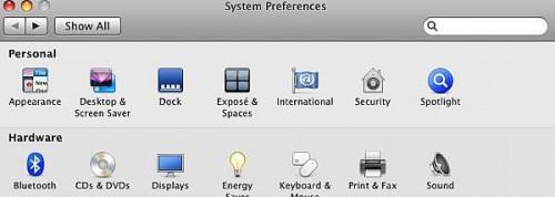 Come visualizzare uno screen saver Orologio Con Mac OS X Leopard