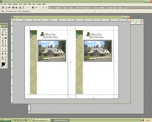 Come fare un opuscolo in Photoshop