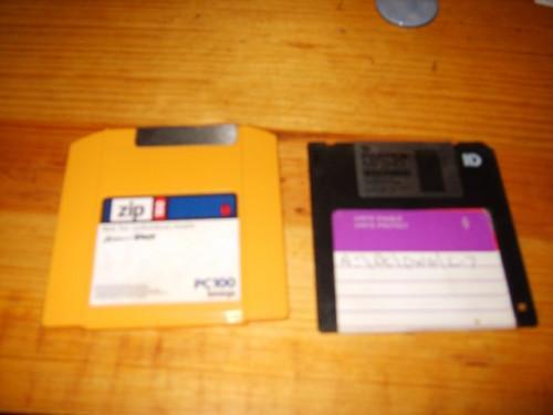 Qual è la capacità di un disco floppy?