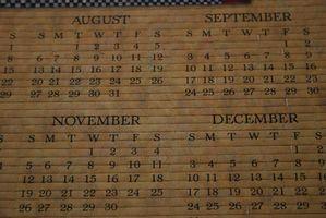 Come creare un modello di calendario