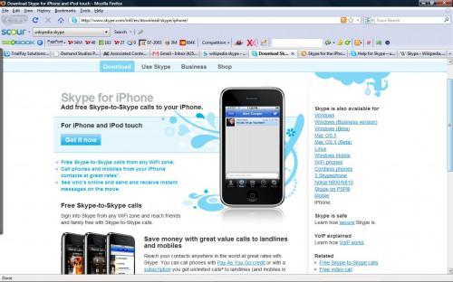 Come scaricare Skype per un iPhone