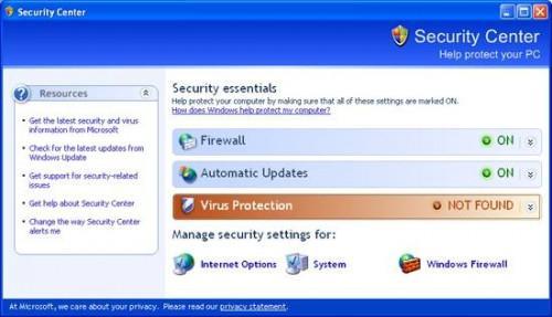 Come rimuovere Avvisi di protezione Windows Dalla barra delle applicazioni