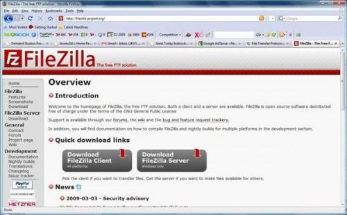 Come impostare Internet FTP L'accesso a un'unità di rete