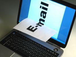 Qual è l'estensione del file per Webmail?