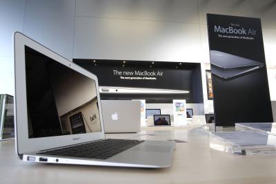 Come reimpostare un congelati Macbook Air