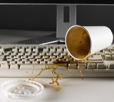 Come pulire Tasti della tastiera con l'alcol