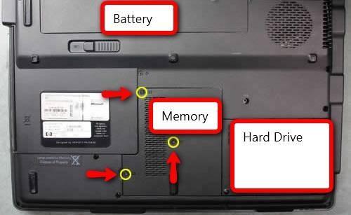 Come installare la RAM su un notebook Presario